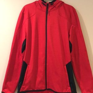 Mens Under Armour Jacket - Red and Black